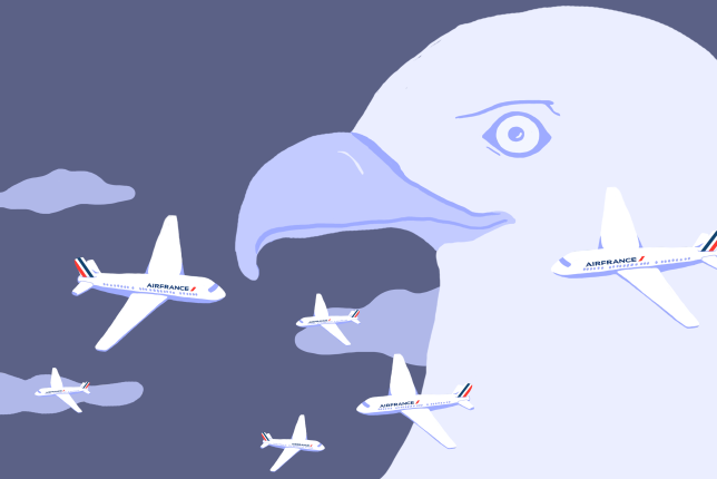 Des vols Air France ont spécifiquement été ciblés par la NSA et le GCHQ qui voulaient pouvoir écouter les appels téléphoniques passés depuis ces avions.