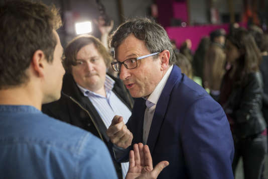 Christophe Borgel participe à la grande convention nationale de La Belle Alliance populaire à la Villette, à Paris, le 3 décembre 2016 - 2016©Jean-Claude Coutausse / french-politics pour Le Monde