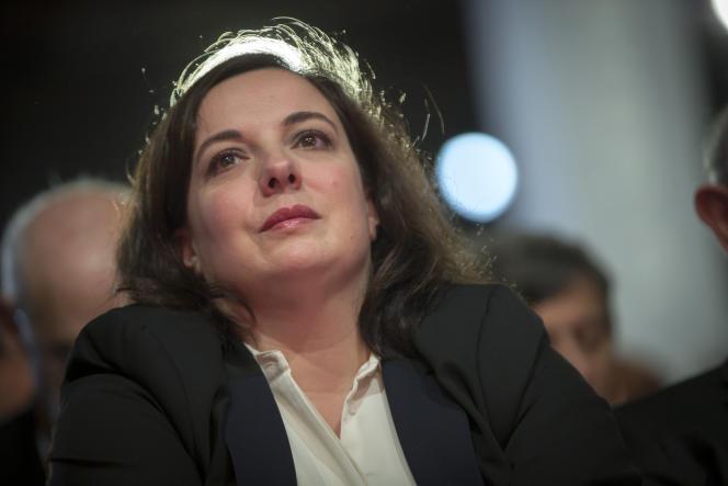 Emmanuelle Cosse participe à la grande convention nationale de La Belle Alliance populaire à laVillette, à Paris, le 3 décembre 2016.
