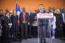 Manuel Valls, le lundi 5 décembre à Evry.