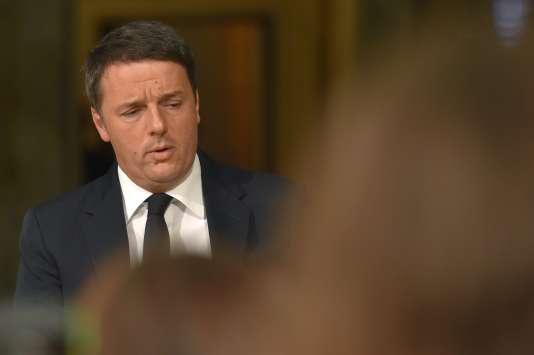 Matteo Renzi, le 4 décembre, à Rome.