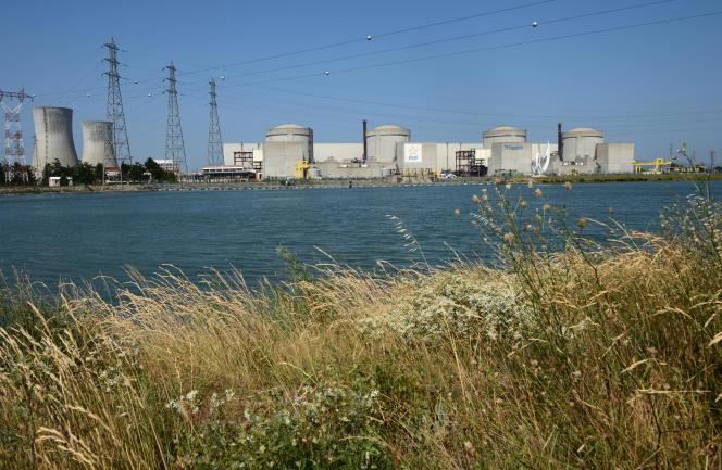La centrale nucléaire du Tricastin, à Pierrelatte.