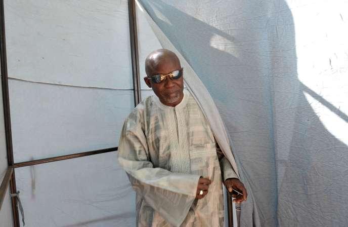 Ousainou Darboe, à Banjul, en novembre 2011.