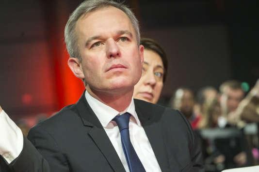 François de Rugy, candidat (Parti écologiste) à la primaire à gauche, le 3 décembre 2016.