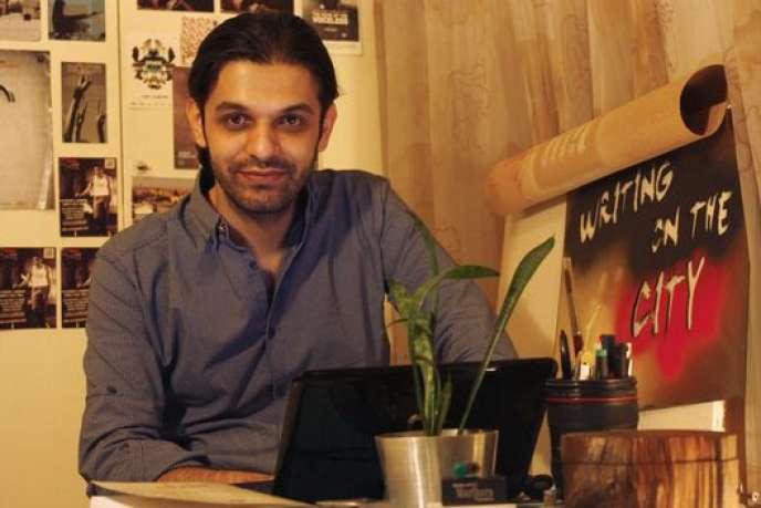 Le cinéaste Keywan Karimi à Téhéran, le 20 février 2016.