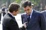 Nicolas Sarkozy et François Fillon, le 8 mai 2010.