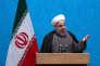 Le président iranien, Hassan Rohani, s'exprime à l'université de Téhéran, le 6 décembre.