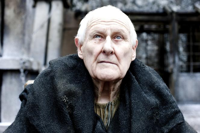 Peter Vaughan, en 2011, dans « Game of thrones ».
