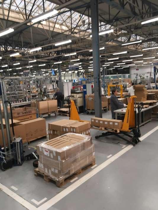 Depuis des années, Bosch a multiplié les initiatives pour rendre son usine la plus efficace possible.
