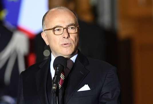 Bernard Cazeneuve, le 6 décembre.