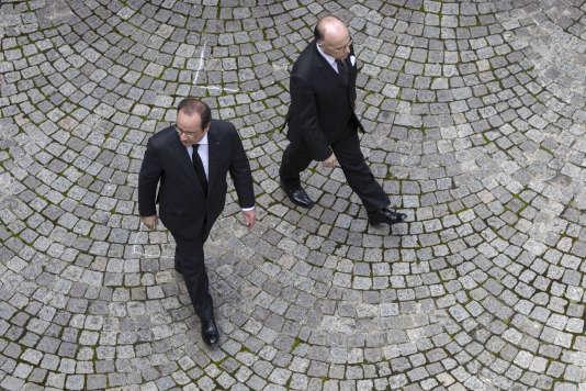 François Hollande et Bernard Cazeneuve, le 15 juin.
