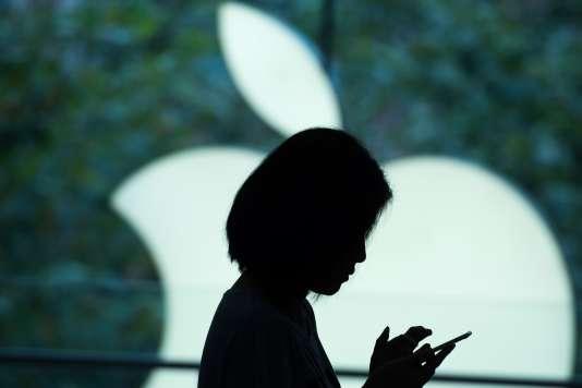 Un Apple Store de Shanghaï.