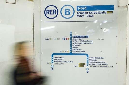 Les trains ne circulent plus entre la gare du Nord (Paris) et l'aéroport Roissy-Charles-de-Gaulle d'une part et le terminus Mitry-Claye (Seine-et-Marne) d'autre part.