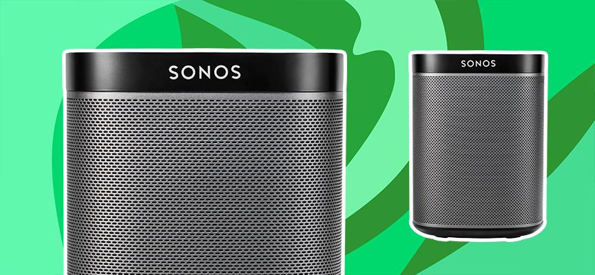 La Sonos Play1 fait merveille dans les pièces difficiles.
