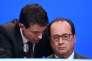 François Hollande et Manuel Valls à Paris le 18 novembre 2015.
