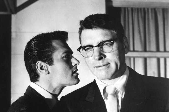 Burt Lancaster et Tony Curtis dans« Le Grand Chantage».