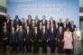 Lors de l'Initiative pour la paix au Proche-Orient, à Paris, le 3 juin.