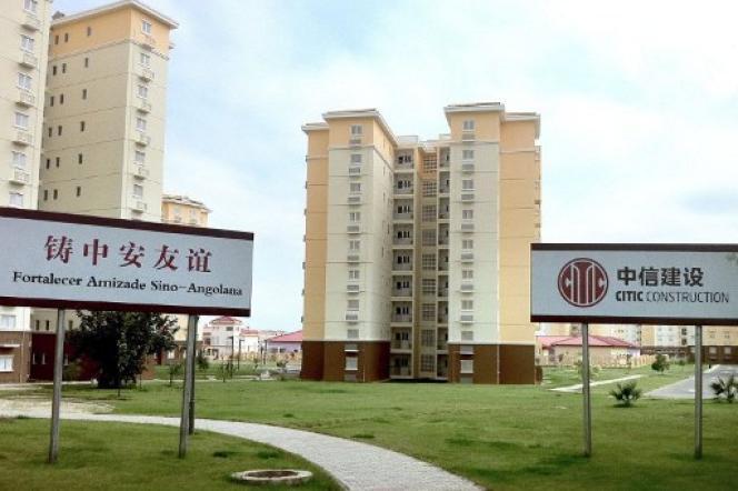 La ville nouvelle de Kilamba Kiaxi, à une trentaine de kilomètres de Luanda, en Angola, en mai 2011.