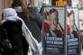 Affiches électorales de Norbert Hofer, à Vienne, au lendemain de la défaite du candidat du FPÖ, le 5 décembre.