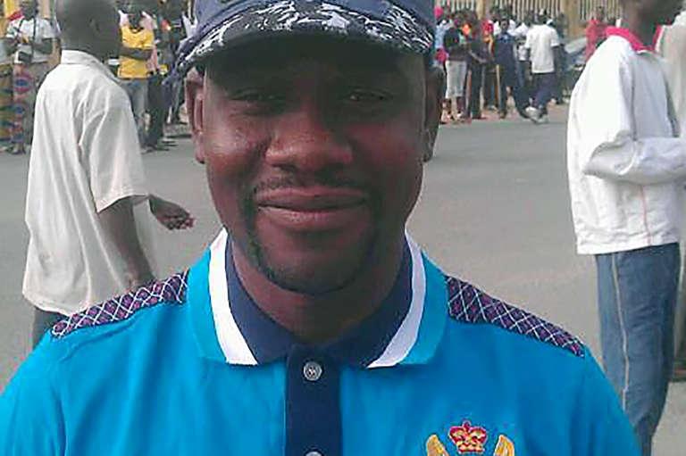 Ahmed Abba, à Yaoundé.