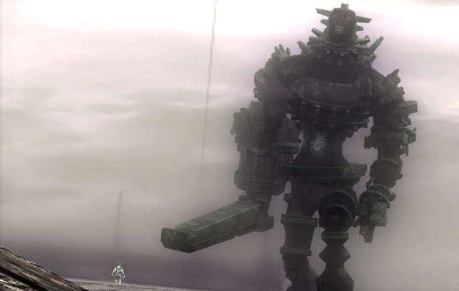 «Shadow of the Colossus» met en scène un cavalier et sa monture.