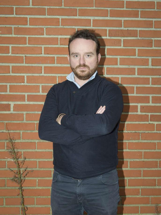 Christophe Silvie, président de club de cricket, le Saint-Omer Cricket Club Stars (SOCCS), à l'origine du projet.