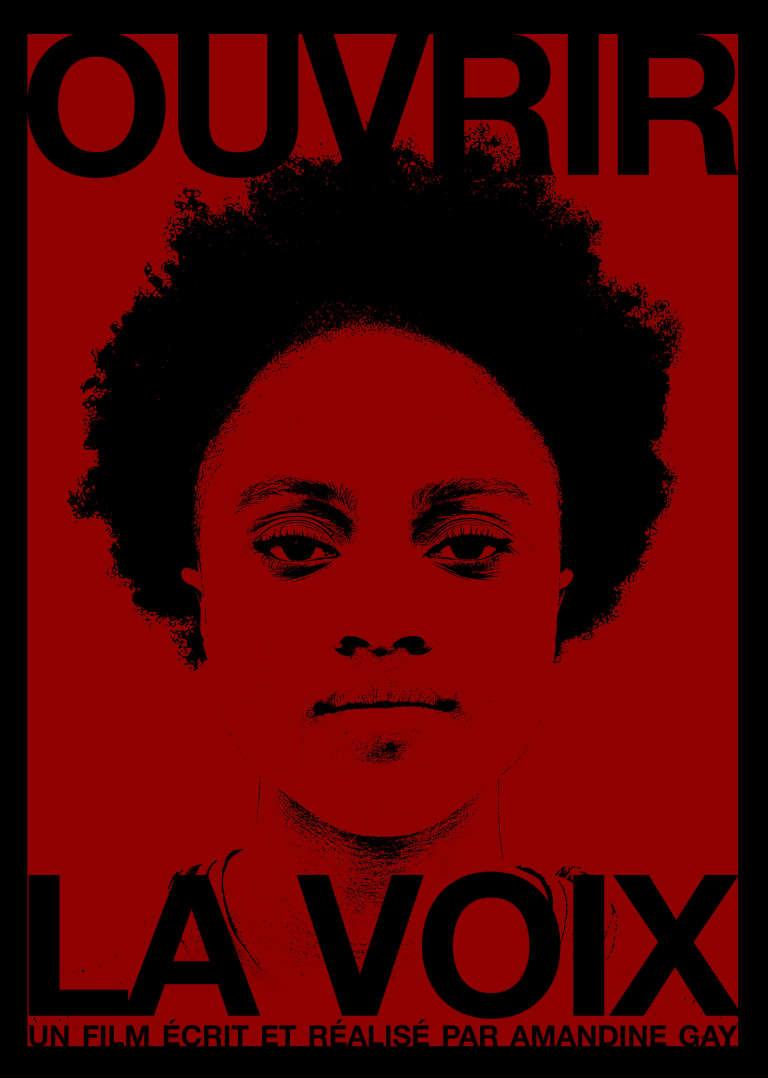 Affiche du film documentaire d'Amandine Gay, «Ouvrir la voix», sorti le 7 décembre 2016.