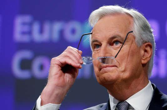 Michel Barnier, le 6 décembre à Bruxelles.