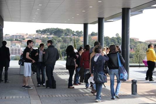 Le campus SophiaTech, à l'université de Nice.