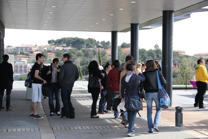 Le campus SophiaTech (université de Nice).