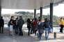 Sur le campus SophiaTech, à l'université de Nice.