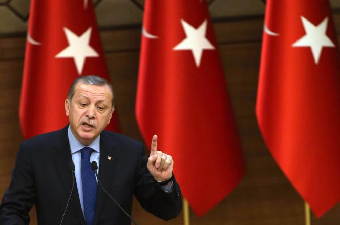 Le président turc Recep Tayyip Erdogan, le 7 décembre à Ankara.