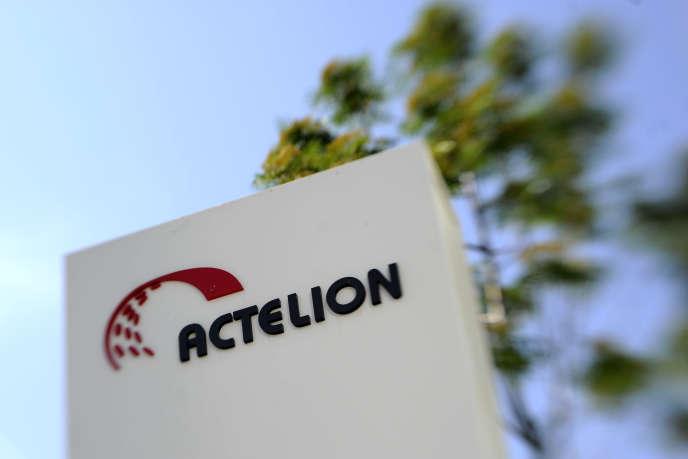 La quartier général d'Actelion, à Allschwil, en Suisse, en 2011.