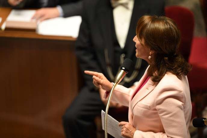 Ségolène Royal à l'Assemblée nationale, le 7 décembre.