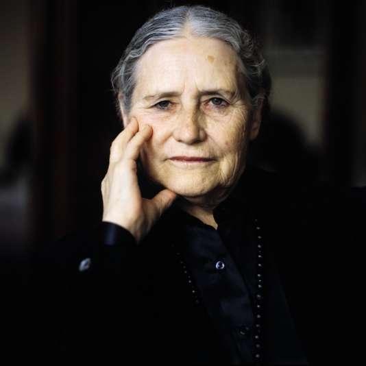 L'auteure Doris Lessing en mars 1995.