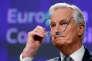 Michel Barnier, conseiller du président de la Commission sur les question de défense européenne, le 6 décembre 2016