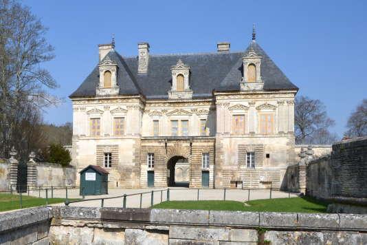 Le château de Tanlay dans l'Yonne.
