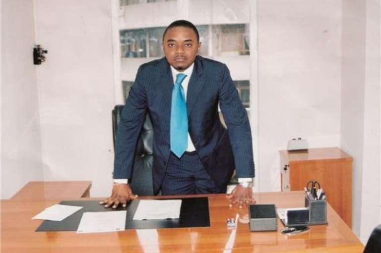 Germain Kambinga, ministre de l'industrie de la République démocratique du Congo et fidèle soutien du président Kabila.
