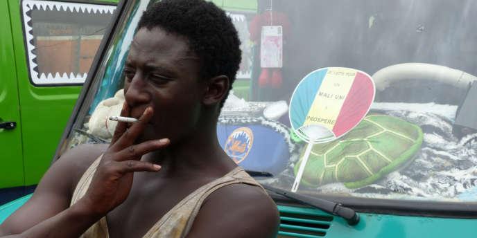 Une image du film du Malien Daouda Coulibaly, «Wulu», et son acteur, Ibrahim Koma, qui joue le rôle de Ladji.