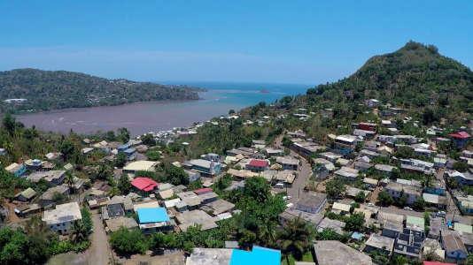 Ville de Chiconi sur l'île de Mayotte