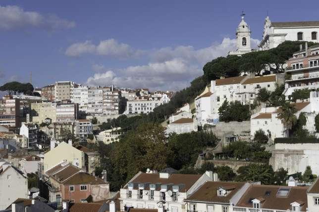 Principe Real, sur les hauteurs de Lisbonne, offre une alternative aux rues bondées du centre-ville.
