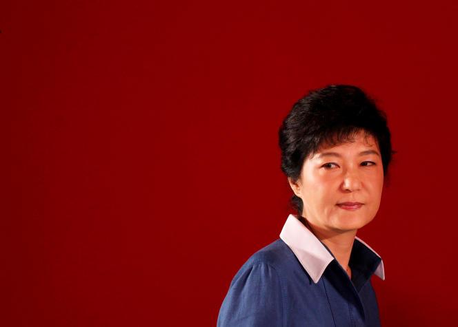 Park Geun-hye, à Goyang (Corée du Sud), le 20 août 2012.