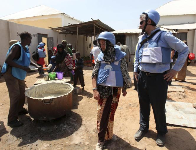 Le personnel des Nations unies en Afrique, ici en Somalie en 2012, a été placé sous surveillance britannique et américaine, de même que ceux de l'Union européenne, de l'Union AFricaine et de nombreuses ONG.