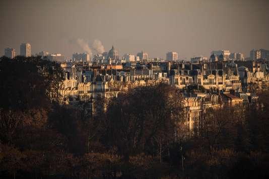 Vue de Paris, le 8 décembre 2016.