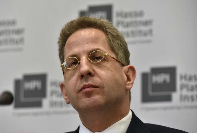 Hans-Georg Maassen dirige le BFV,le service de renseignement intérieur allemand.