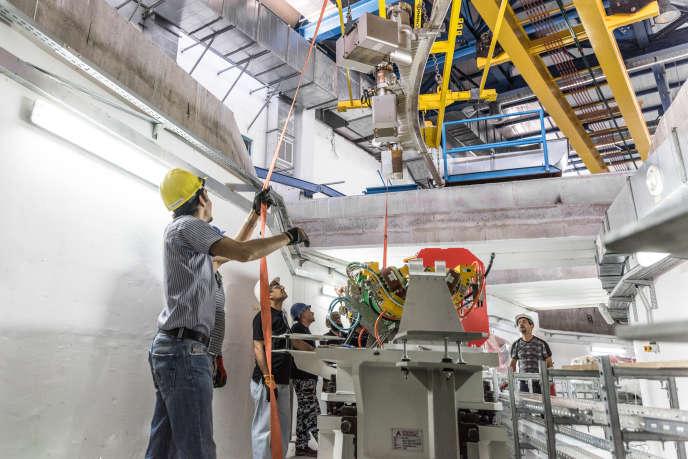 Le synchrotron Sesame, construit en Jordanie, est constitué de 133 mètres d'horlogerie de précision.