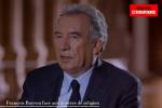 François Bayrou, invité de l'émission «Et si c'était vous ?» sur la chaîne Tout l'Histoire.