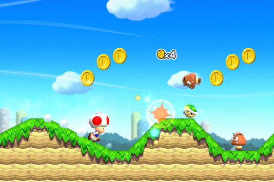 « Super Mario Run » s'inspire de la recette popularisée en 2012 par « Rayman Jungle Run ».