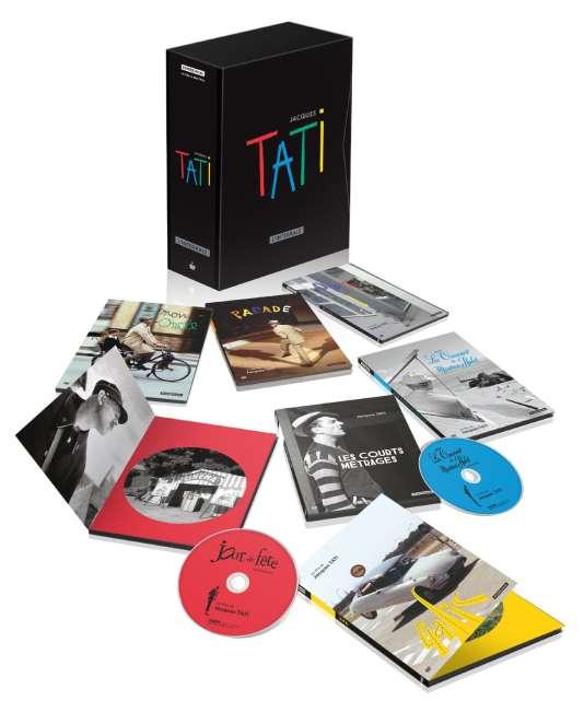 Coffret Jacques Tati, l'intégrale.