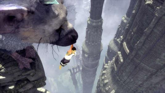 Trico peut sauver le héros d'une chute mortelle ou de gardiens spectraux agressifs.